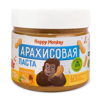 Арахисовая паста «Оригинальная» 330 гр Happy Monkey