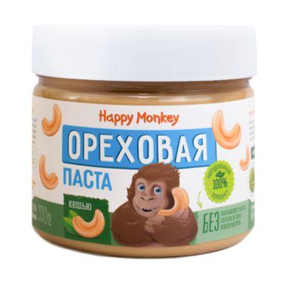 Ореховая паста «Кешью» 330 гр Happy Monkey