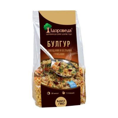 Булгур с Белыми грибами и Овощами 250 гр «Здороведа»