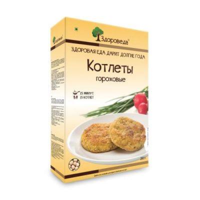 Котлеты Гороховые 280 гр «Здороведа»