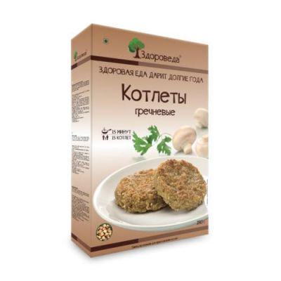 Котлеты Гречневые 280 гр «Здороведа»