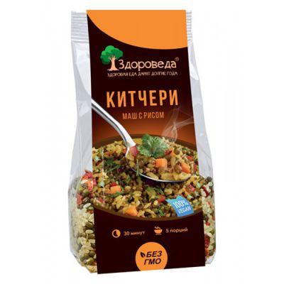 Маш с рисом КИТЧЕРИ 250 гр «Здороведа»