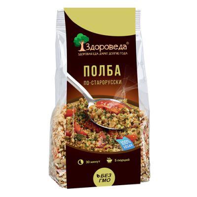 Полба с зеленой Чечевицей 250 гр «Здороведа»