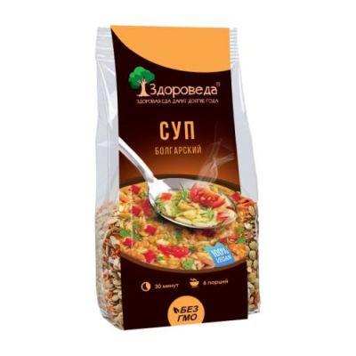 Суп Болгарский с Чечевицей (помидоры + сельдерей) 250 гр «Здороведа»