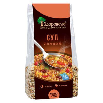 Суп Мексиканский с Рисом и Кукурузой 250 гр «Здороведа»