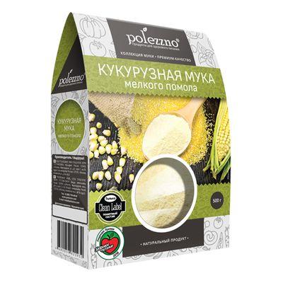 Мука Кукурузная мелкого помола 500 гр «POLEZZNO»