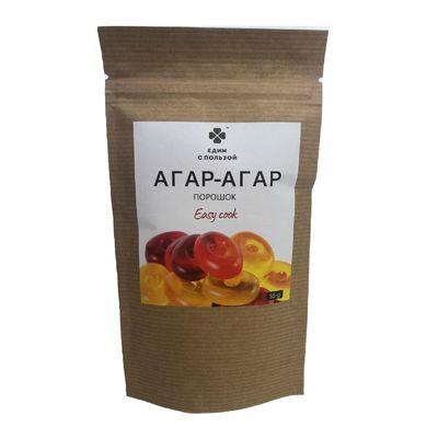 АГАР-АГАР порошок 55 гр «Едим с пользой»