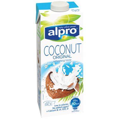 Напиток КОКОС + РИС  обогащенный кальцием и витаминами 0,25 л «ALPRO»
