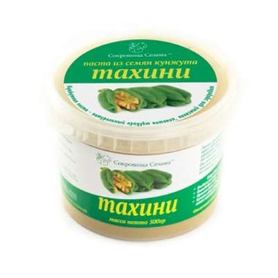Паста КУНЖУТНАЯ тахини 500 гр «Сокровища сезама»
