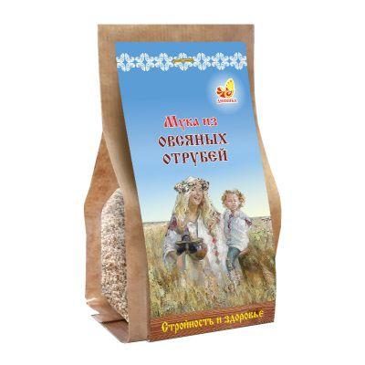 Мука из ОВСЯНЫХ отрубей 400 гр «Дивинка»