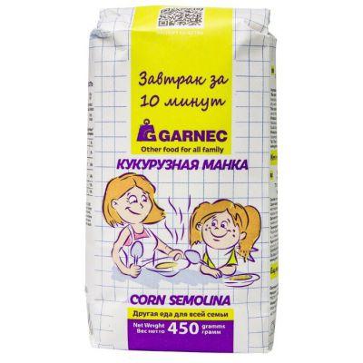 Кукурузная Манка 450 гр «Гарнец»