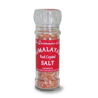 Пищевая Гималайская КРАСНАЯ Соль (мельничка)120 гр