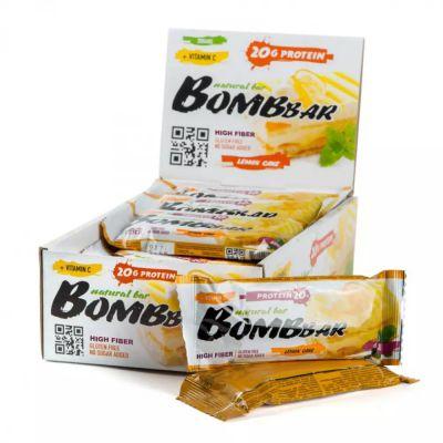 БАТОНЧИК (Лимонный торт) неглазированный 60 гр «Bombbar»