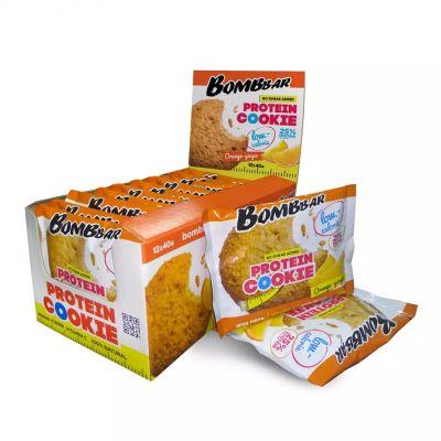 Печенье протеиновое АПЕЛЬСИН-ИМБИРЬ 40 гр «Bombbar»