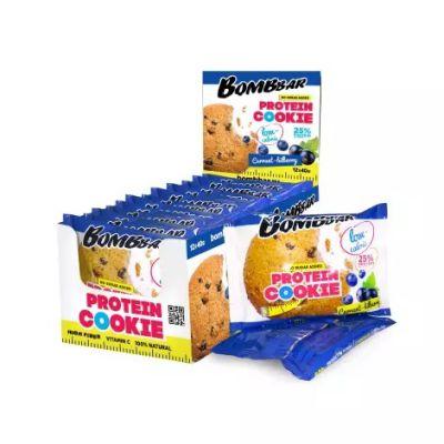 Печенье протеиновое СМОРОДИНА-ЧЕРНИКА 40 гр «Bombbar»