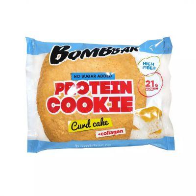 Печенье протеиновое ТВОРОЖНЫЙ КЕКС 60 гр «Bombbar»