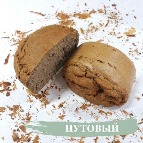 ХЛЕБ НУТОВЫЙ безглютеновый, бездрожжевой 260 гр «Бreadбери»