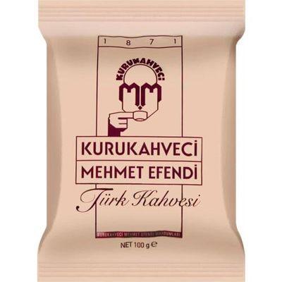 Турецкий КОФЕ Mehmet Efendi молотый 100 гр